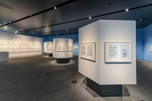 Tại đây khách tham quan sẽ được ngắm nhìn những bản vẽ nguyên bản của họa sỹ Fujiko
