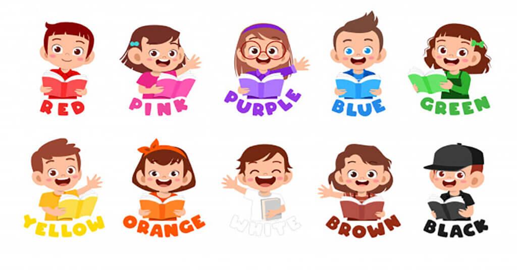 Học tiếng Anh lớp 3 - màu sắc