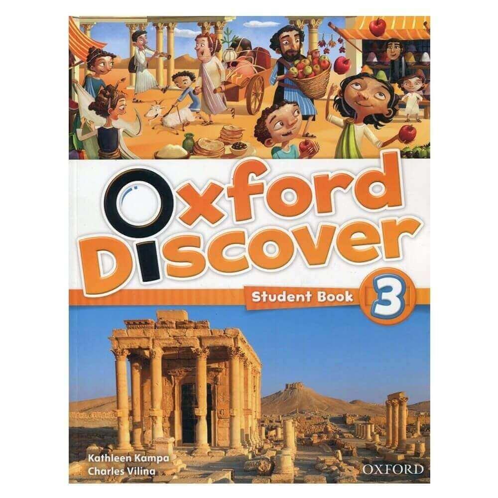 Oxford Discover 3 học tiếng Anh cho bé