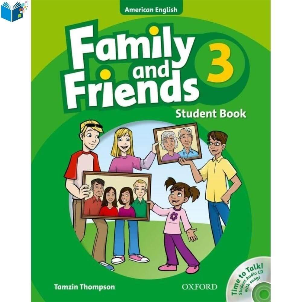 Family & Friends 3 học tiếng Anh cho bé lớp 3