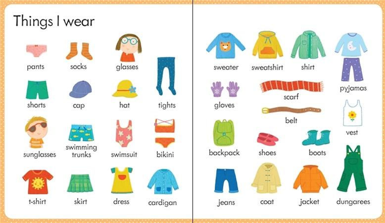 Học tiếng Anh lớp 3 - quần áo
